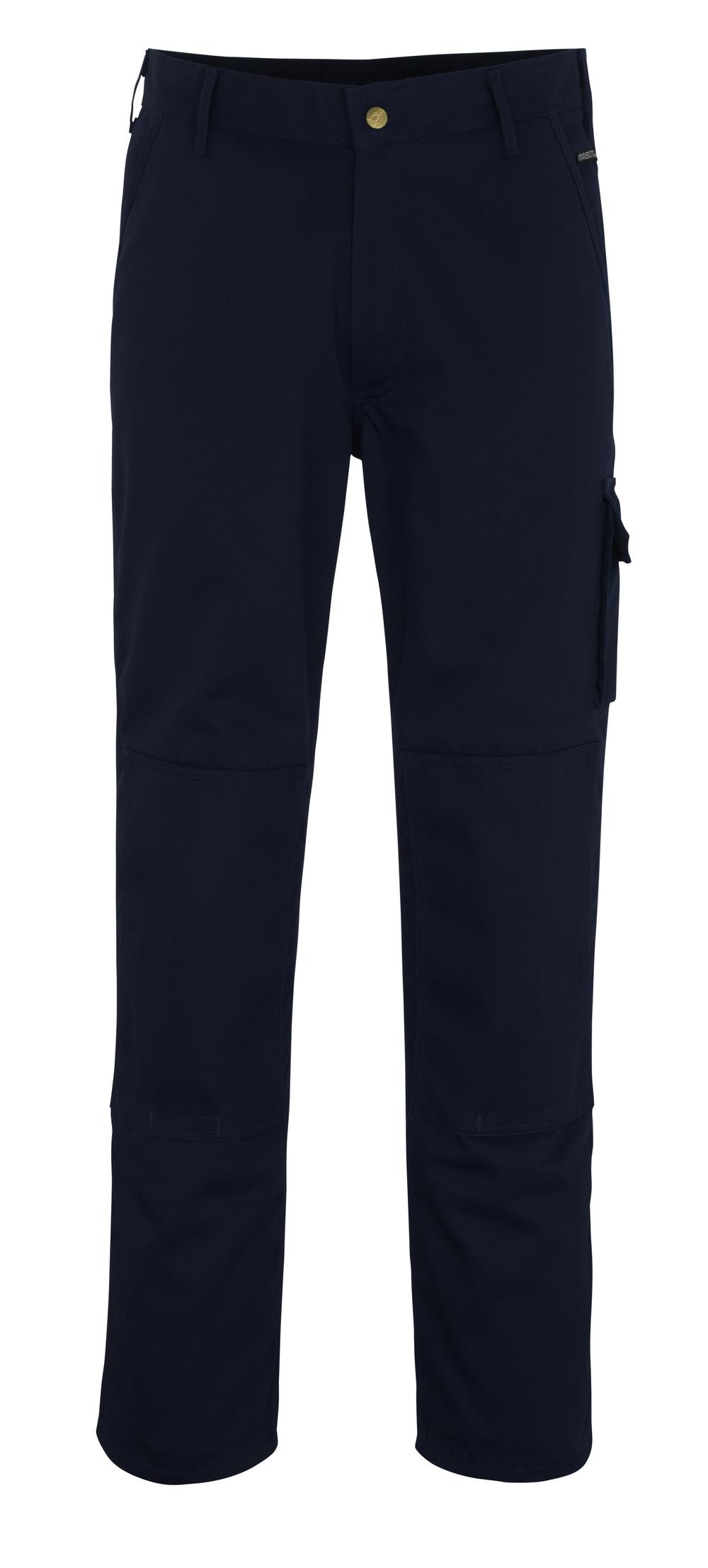 00279-430-01 Spodnie z kieszeniami na kolanach - granat