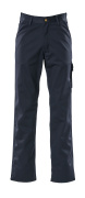 00299-430-01 Spodnie z kieszeniami na udach - granat