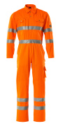 00419-860-14 Kombinezon z kieszeniami na kolanach - pomarańcz hi-vis