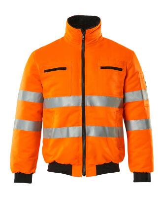 00516-660-14 Kurtka pilotka - pomarańcz hi-vis