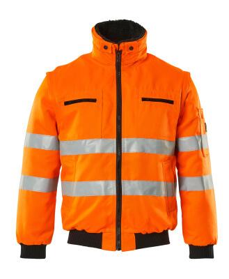 00520-660-14 Kurtka pilotka - pomarańcz hi-vis