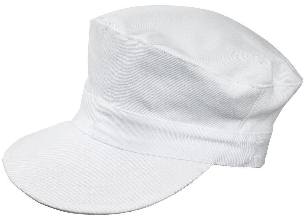 00530-630-06 Czapka z daszkiem - biel