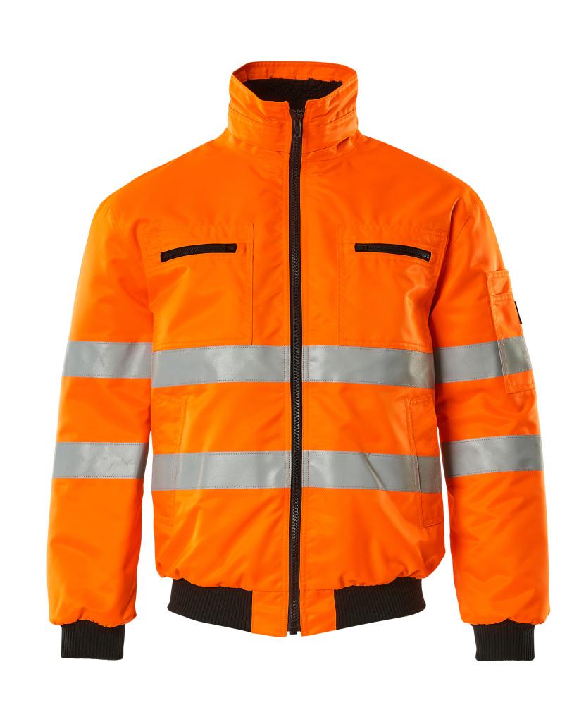 00534-880-14 Kurtka pilotka - pomarańcz hi-vis