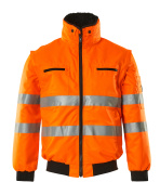 00535-880-14 Kurtka pilotka - pomarańcz hi-vis