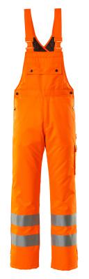 00592-880-14 Ogrodniczki zimowe - pomarańcz hi-vis