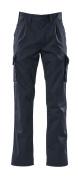 00773-430-01 Spodnie z kieszeniami na udach - granat