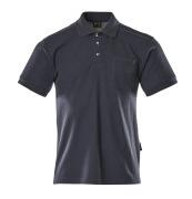 00783-260-01 Koszulka Polo z kieszenią na piersi - granat