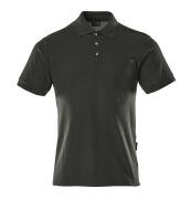 00783-260-09 Koszulka Polo z kieszenią na piersi - czerń