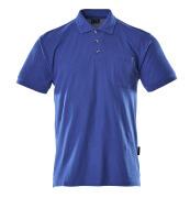 00783-260-11 Koszulka Polo z kieszenią na piersi - niebieski