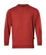 00784-280-02 Sweter - czerwień