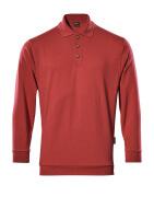 00785-280-02 Bluza Polo - czerwień