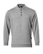 00785-280-08 Bluza Polo - szary nakrapiany