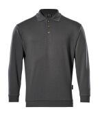 00785-280-18 Bluza Polo - ciemny antracyt