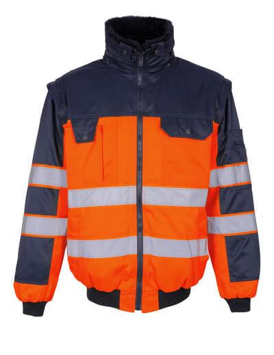 00920-660-141 Kurtka pilotka - pomarańcz hi-vis/granat