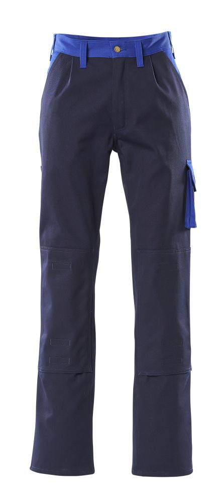 00955-630-111 Spodnie z kieszeniami na kolanach - granat/niebieski