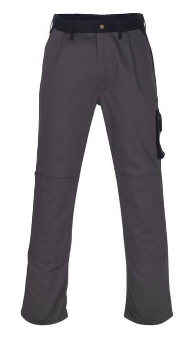 00979-430-111 Spodnie z kieszeniami na kolanach - granat/niebieski