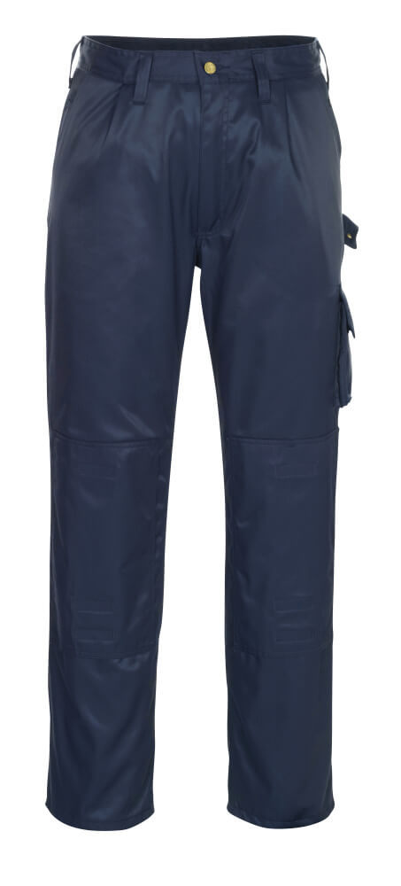 00979-620-01 Spodnie z kieszeniami na kolanach - granat