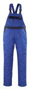 04569-800-1101 Ogrodniczki z kieszeniami na kolanach - niebieski/granat