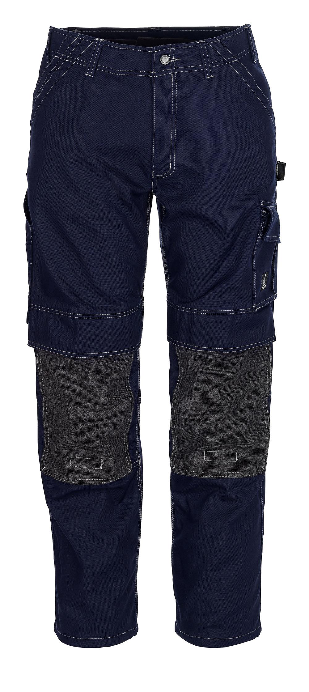 05079-010-01 Spodnie z kieszeniami na kolanach - granat