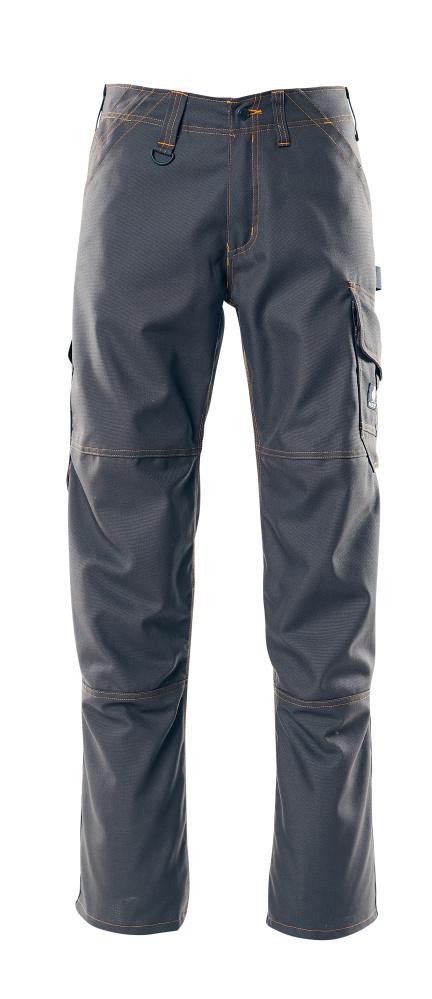 05279-010-010 Spodnie z kieszeniami na udach - ciemny granat