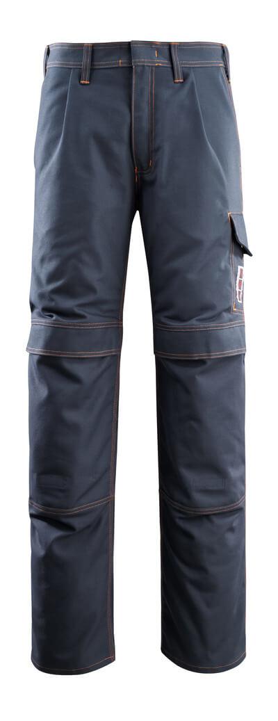 06679-135-010 Spodnie z kieszeniami na kolanach - ciemny granat
