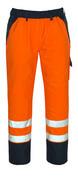 07090-880-141 Spodnie zewnętrzne naciągane - pomarańcz hi-vis/granat