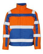 07109-860-1411 Kurtka - pomarańcz hi-vis/niebieski
