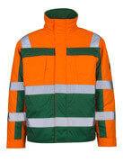 07123-126-1403 Kurtka pilotka - pomarańcz hi-vis/zieleń
