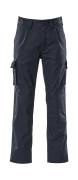 07479-330-01 Spodnie z kieszeniami na kolanach - granat