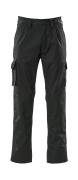 07479-330-09 Spodnie z kieszeniami na kolanach - czerń