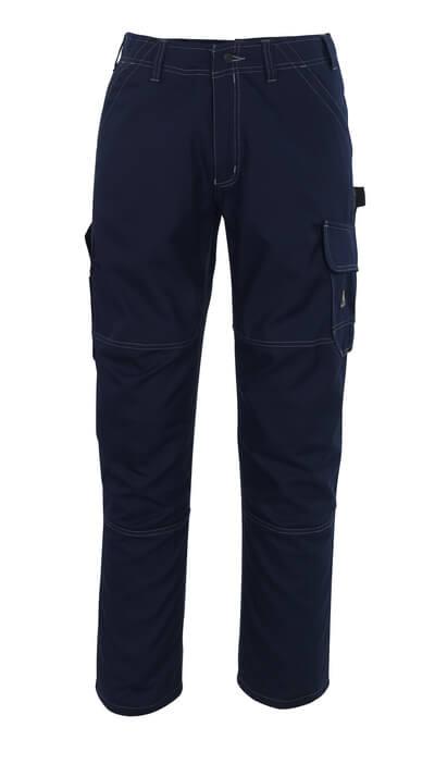 08679-154-09 Spodnie z kieszeniami na udach - czerń