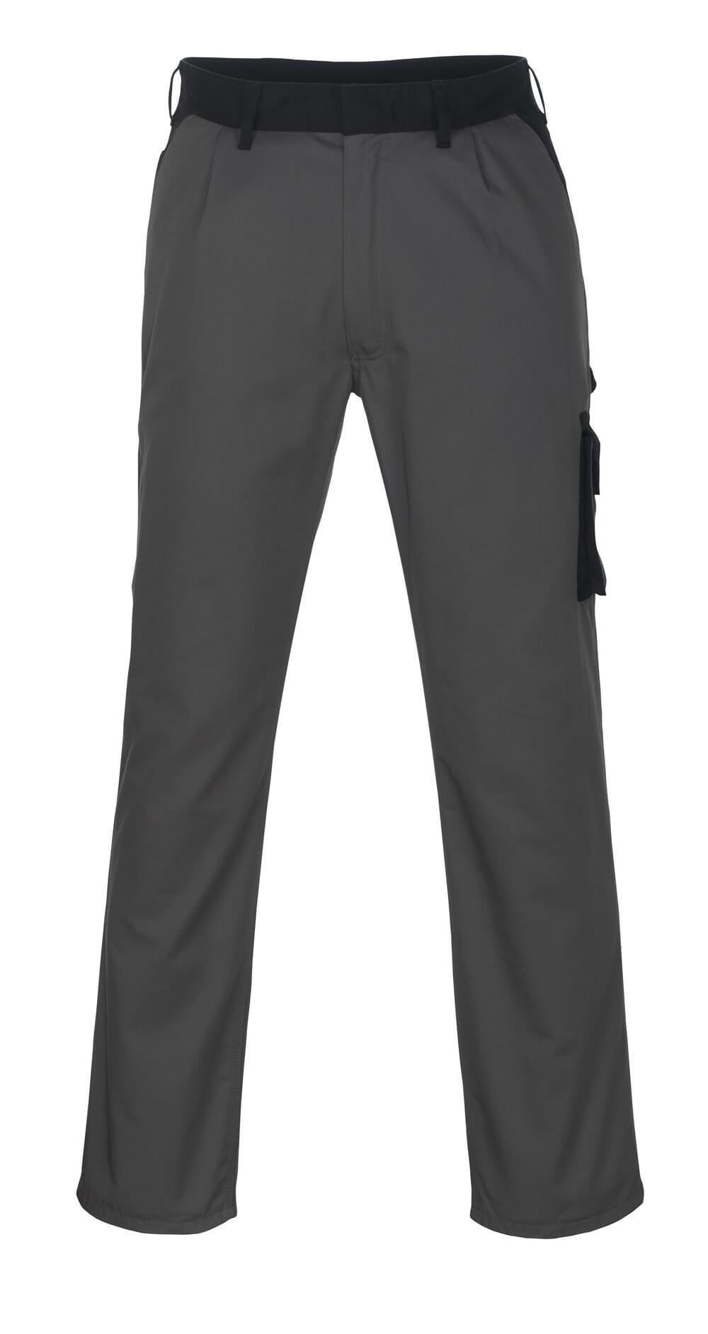 08779-442-8889 Spodnie z kieszeniami na udach - antracyt/czerń