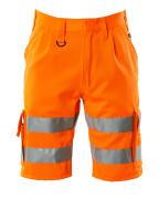 10049-860-14 Szorty - pomarańcz hi-vis