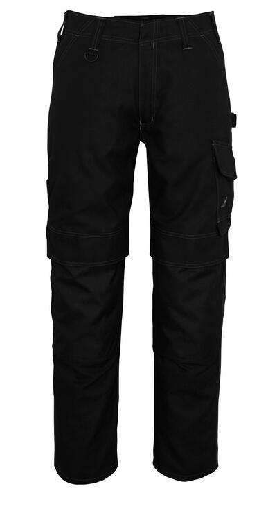 10179-154-010 Spodnie z kieszeniami na kolanach - ciemny granat