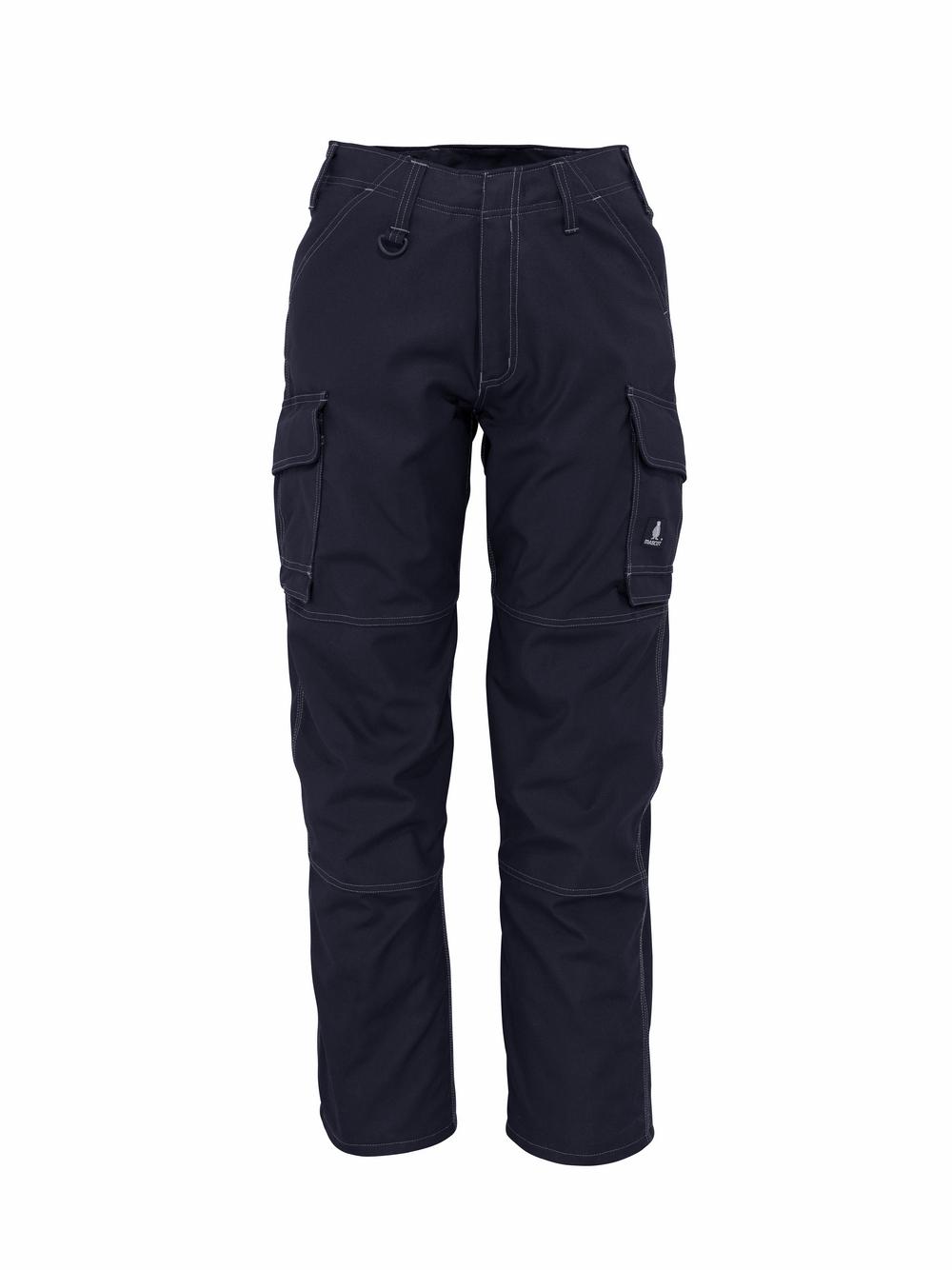 10279-154-010 Spodnie z kieszeniami na udach - ciemny granat