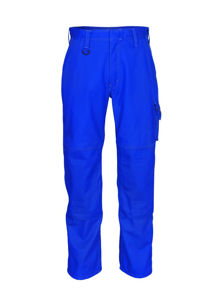10579-442-11 Spodnie z kieszeniami na kolanach - niebieski