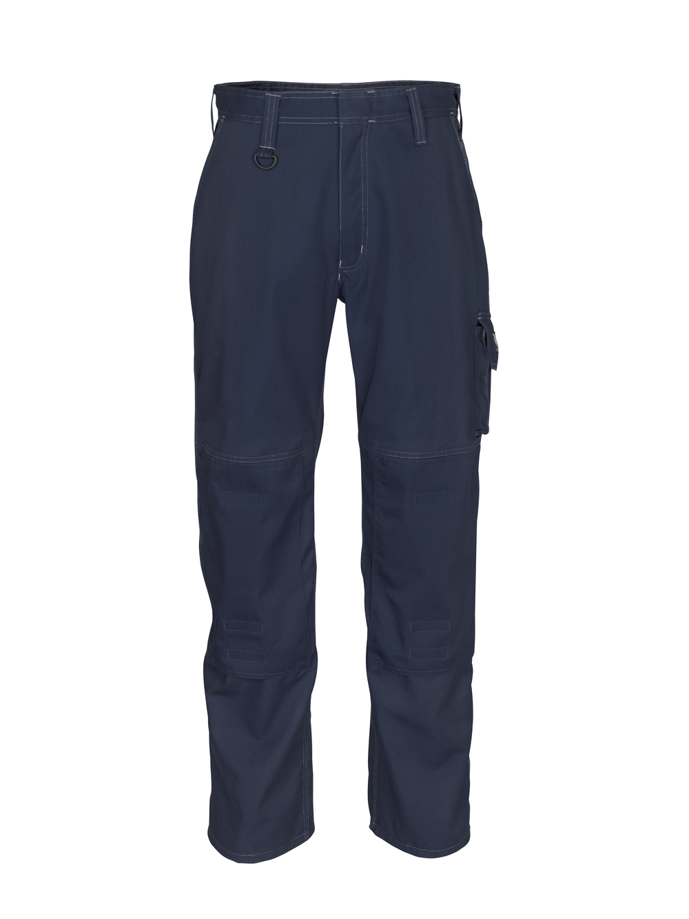 12355-630-010 Spodnie z kieszeniami na kolanach - ciemny granat