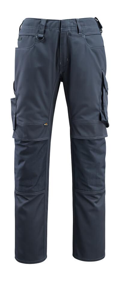 12479-203-010 Spodnie z kieszeniami na kolanach - ciemny granat