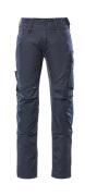 12679-442-0918 Spodnie z kieszeniami na kolanach - czerń/ciemny antracyt