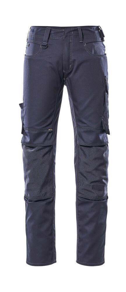 12779-442-010 Spodnie z kieszeniami na kolanach - ciemny granat