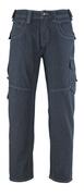 13379-207-B52 Dżinsy z kieszeniami na udach - ciemnoniebieski