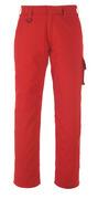 13579-442-02 Spodnie z kieszeniami na udach - czerwień