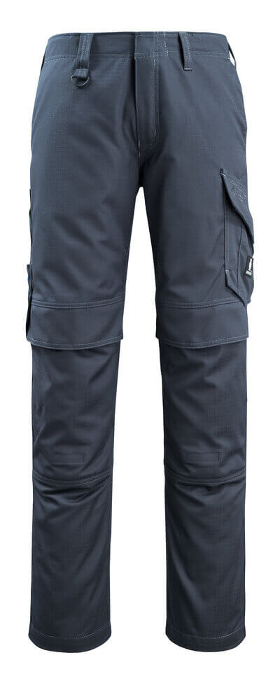 13679-216-010 Spodnie z kieszeniami na kolanach - ciemny granat