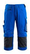 14149-442-11010 Spodenki ¾ z kieszeniami na kolanach - niebieski/ciemny granat