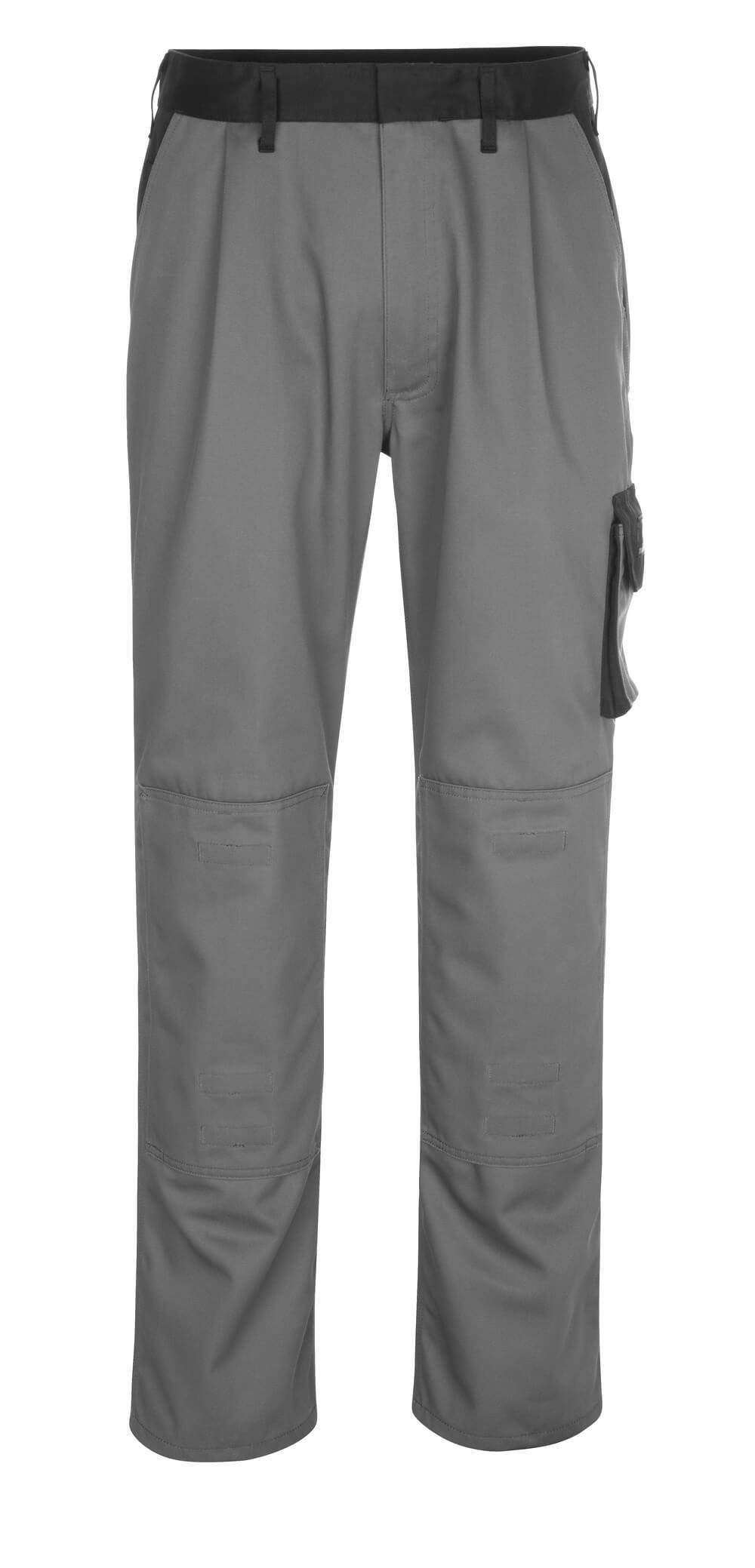 14179-442-8889 Spodnie z kieszeniami na kolanach - antracyt/czerń
