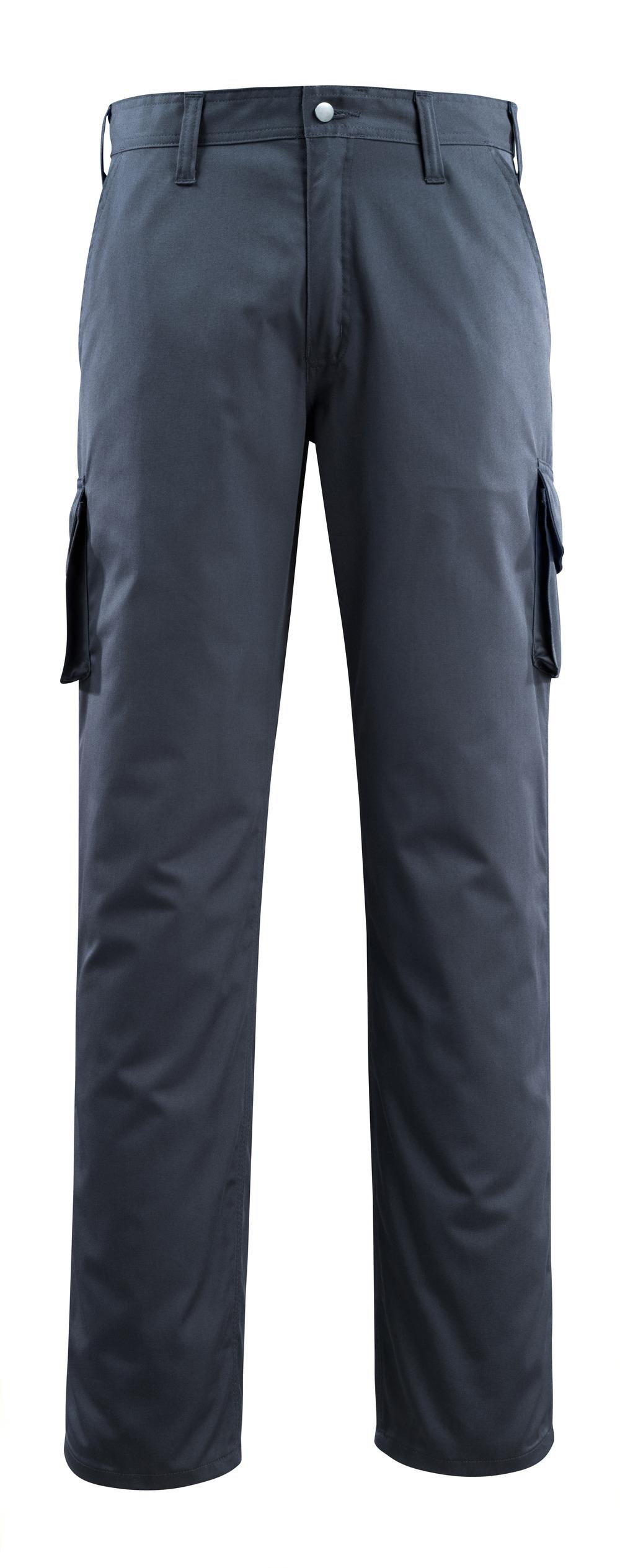 14779-850-010 Spodnie z kieszeniami na udach - ciemny granat