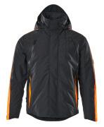 15035-222-01014 Kurtka Zimowe - ciemny granat/pomarańcz hi-vis