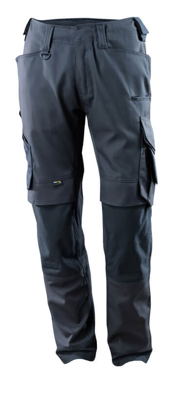 15079-010-010 Spodnie z kieszeniami na kolanach - ciemny granat
