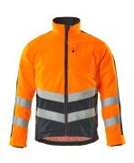 15503-259-14010 Kurtka Polarowa - pomarańcz hi-vis/ciemny granat
