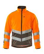 15503-259-1418 Kurtka Polarowa - pomarańcz hi-vis/ciemny antracyt